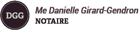 Me Danielle Girard-Gendron, notaire